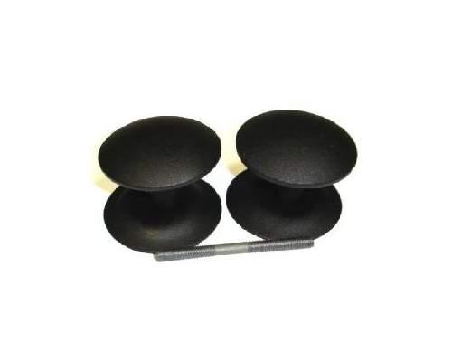 Ручка-кнопка РДК 110-Ч черный