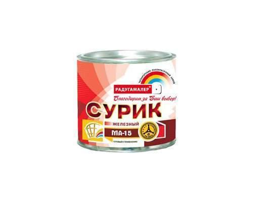 Сурик железный  0,9кг (Радуга)