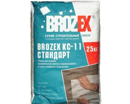 Клей КС-111 BROZEX 25кг Усиленный