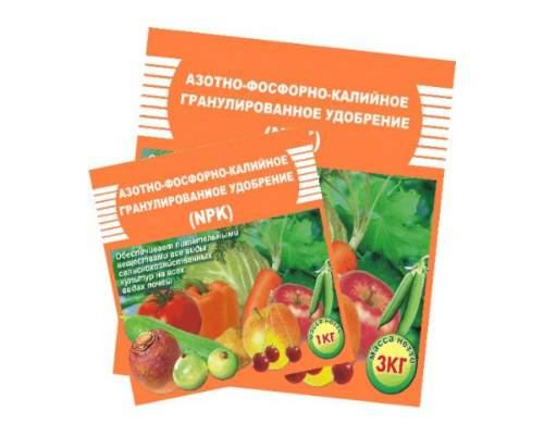 Удобрение Азотно-фосфорно-калийное 1кг