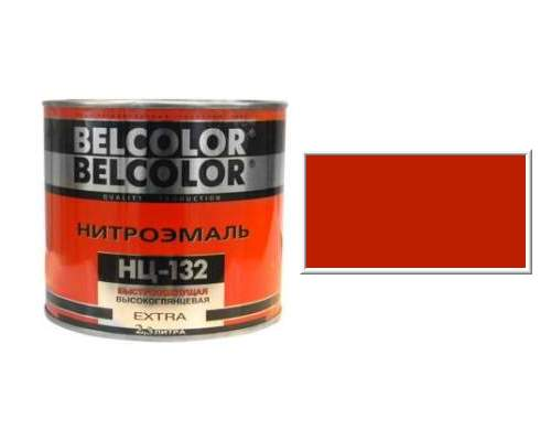 Эмаль НЦ-132 красная 1,7кг (Белколор)