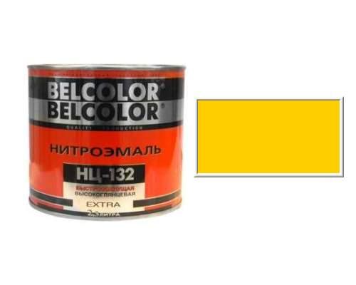 Эмаль НЦ-132 желтая 0,7кг (Белколор)