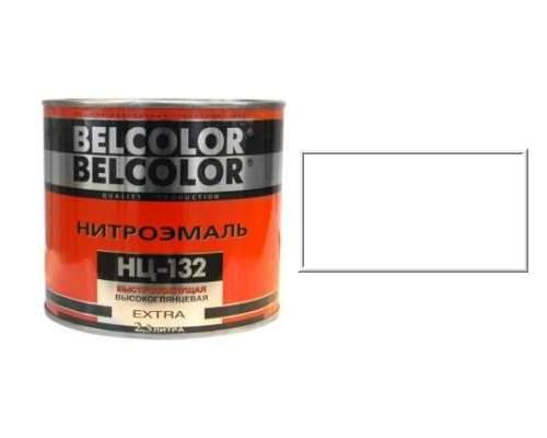 Эмаль НЦ-132 белая 0,7кг (Белколор)