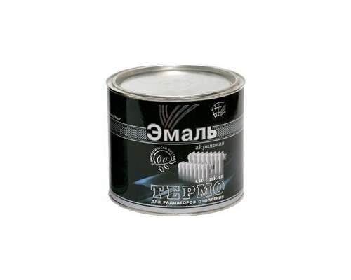 Эмаль АКРИЛОВАЯ д/радиаторов белая 0,4кг (Радуга)