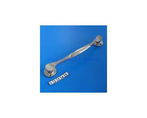 Ручка дверная 3011A хром/сатин