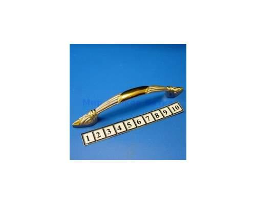 Ручка мебельная 3164-96 золото/сатин