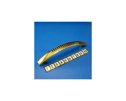 Ручка мебельная 345-96S золото
