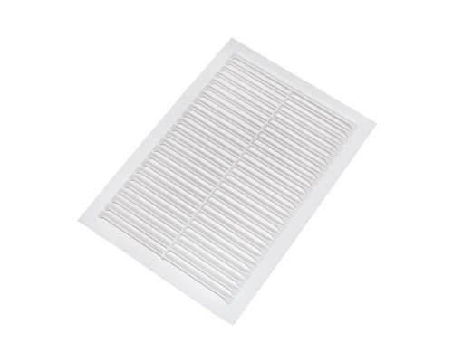 Решетка 200х200 вентиляционная белая