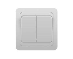 Выключатель Классик 2023 (2 клавиши, скр/пр)