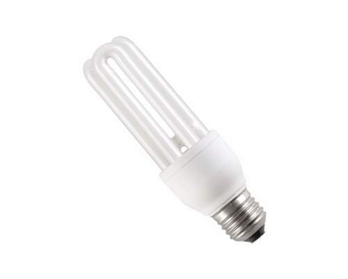 Лампа ДУЭТ  8Вт-2U-4200К(хол. свет)-Е27