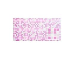 ПВХ панель  Микс розовый 955*480мм