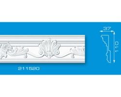 Плинтус потолочный 211520   2м