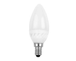 Лампа  LED Ecola Свеча 4Вт Е14 (4000К хол. свет)