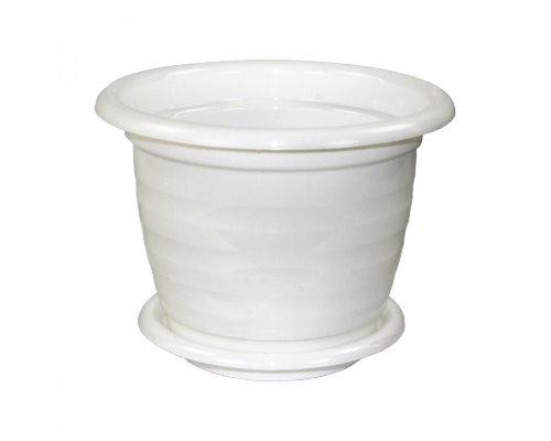 Горшок Виола  3,5л Белый с/п М1339