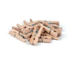 Прищепки  деревянные набор 12шт.