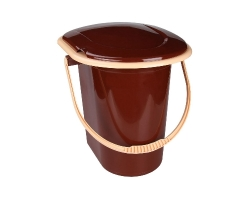 Ведро-туалет 17л коричневый М1319