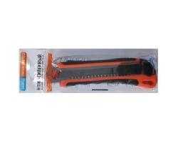 Нож сегментное лезвие усил. 18мм + 3 лезвия  002