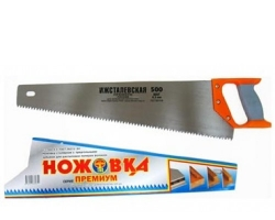 Ножовка по дереву 500мм зуб 6,5мм (Ижсталь)