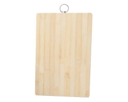 Доска разделочная  бамбук 003D (32*22*1,7см)