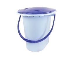 Ведро-туалет 17л голубой М1320
