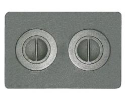 ПЕЧНОЕ П2-7 Плита с 4-мя конфорками (510*340мм)