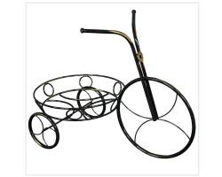 """Подставка для цветов """"Велосипед"""" (Черный)"""