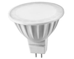 Лампа  LED ПРОГРЕСС MR16  7Вт GU5.3 (Белый свет)