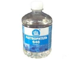 Растворитель 646   1,0л (Ленинград)