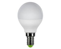 Лампа  LED ПРОГРЕСС Шар  7Вт Е14 (Желтый свет)
