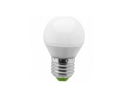 Лампа  LED ПРОГРЕСС Шар  7Вт Е27 (Желтый свет)