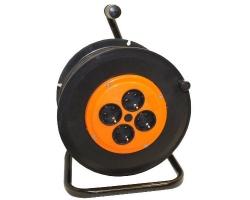 Удлинитель на катушке с з/к (КГ 3х1,5) 4-гн 25м