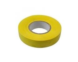 Изолента ПВХ 15мм*10м желтая