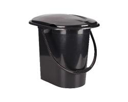 Ведро-туалет 17л Эконом М6355