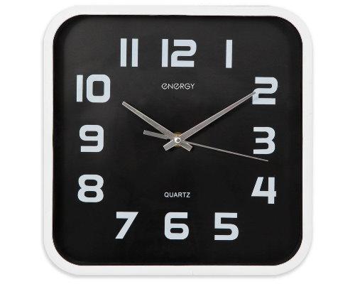 Часы настенные кварцевые ENERGY ЕC- 09 квадратные