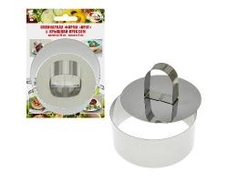 Кулинарная форма Круг 10*4см AN8-2