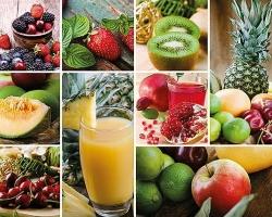 Клеенка DEKORAMA 1,4м 106А ягоды и фрукты в клетке
