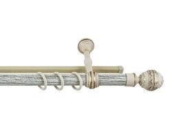 Карниз Валанс + шина Белое золото 2,8м