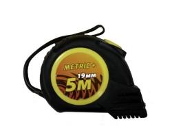 Рулетка Metric  5м/19мм с магнитом