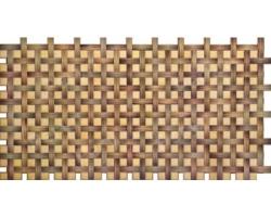 Панель ПВХ 0,4мм плетенка Орех