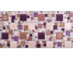 Панель ПВХ 0,4мм мозаика Модерн амарантовый