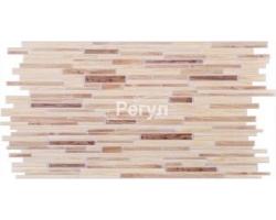 Панель ПВХ 0,4мм декоративный брус Дуб