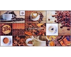 Панель ПВХ 0,3мм мозаика Кофейня