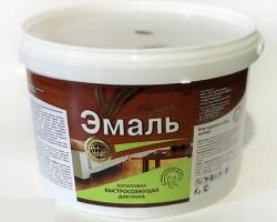 Эмаль акриловая для пола красн-кор. 0,9кг (Радуга)