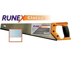 Ножовка по дереву Runex Classic 400мм 7 з/д закал.