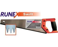 Ножовка по дереву Runex Swift 400мм 3-гр. заточка