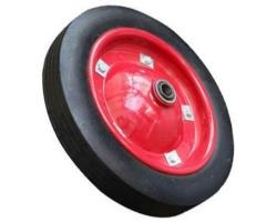 Колесо для тачки литое 310мм (ось 16)