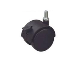 Колесо мебельное черное д.50 TWT-50