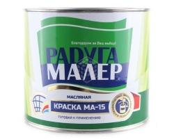 Краска МА-15 черная 1,9кг (Радуга)