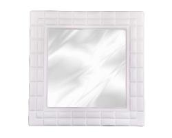 Зеркало Ника 49,5*49,5*2,5см квадр. белый М6686