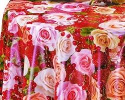Клеенка DEKORAMA 1,4м 062А розы и ягоды